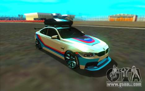 BMW M4 R for GTA San Andreas