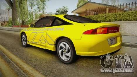 Mitsubishi Eclipse GSX 1995 HQLM for GTA San Andreas interior
