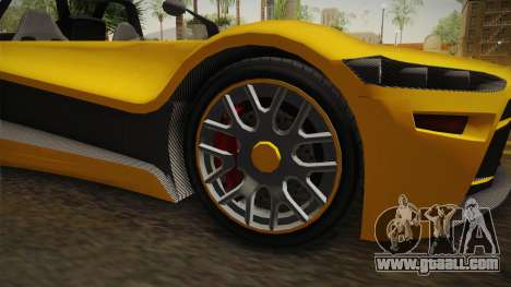 GTA 5 Hijak Ruston IVF for GTA San Andreas back view