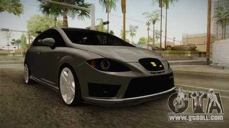 Seat Leon Cupra R for GTA San Andreas