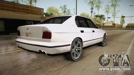 Midnight Club 2 - Schneller V8 IVF for GTA San Andreas left view