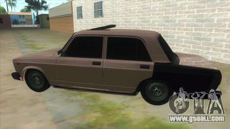 VAZ 2105 Tramp for GTA San Andreas left view