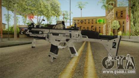 CoD: Ghosts - ARX-160 Holographic for GTA San Andreas second screenshot