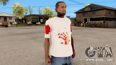 T-Shirt Jason Voorhees Style for GTA San Andreas second screenshot