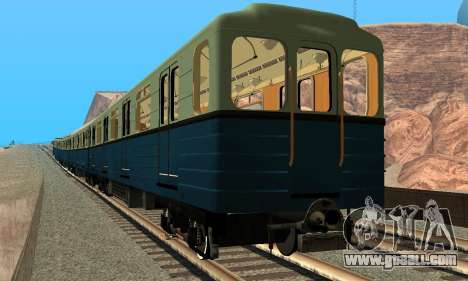 Metrostav type Hedgehog for GTA San Andreas back view