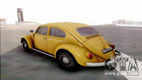 Volkswagen Juke for GTA San Andreas back left view