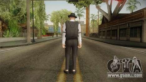 GTA Online: Public Enemies Skin for GTA San Andreas third screenshot