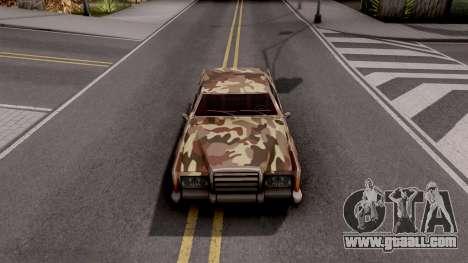 New Paintjob for Remington v2 for GTA San Andreas inner view