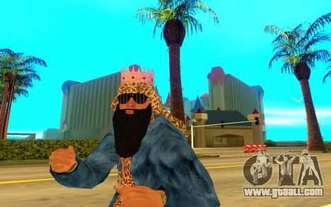 Big Russian Boss for GTA San Andreas third screenshot