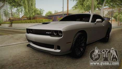 Dodge Challenger SRT Hellcat for GTA San Andreas right view