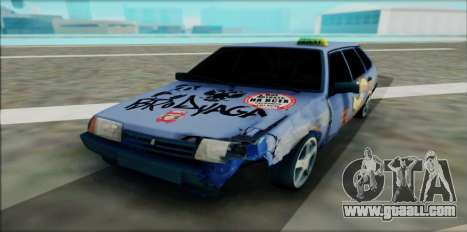 2109 for GTA San Andreas back left view