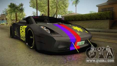 Lamborghini Gallardo Philippines for GTA San Andreas right view