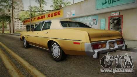 Plymouth Fury Salon (RL41) 1978 HQLM for GTA San Andreas left view