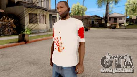 T-Shirt Jason Voorhees Style for GTA San Andreas