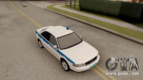 Audi A8 Russian Police for GTA San Andreas right view