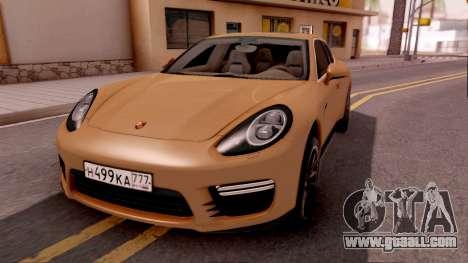 Porsche Panamera GTS 2012 for GTA San Andreas
