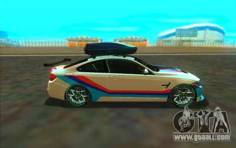 BMW M4 R for GTA San Andreas left view