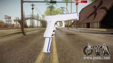 Blue Weapon 1 for GTA San Andreas second screenshot