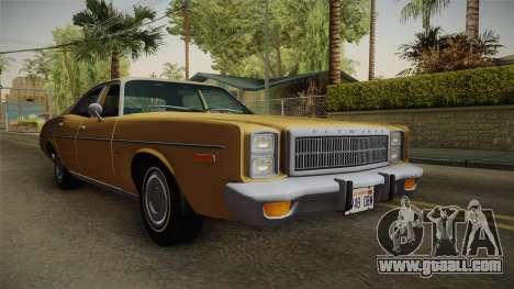 Plymouth Fury Salon (RL41) 1978 HQLM for GTA San Andreas