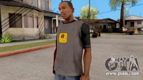 Rockstar T-Shirt for GTA San Andreas