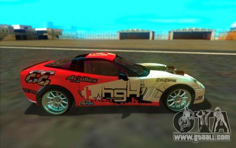Chevrolet Corvette ZR1 for GTA San Andreas left view