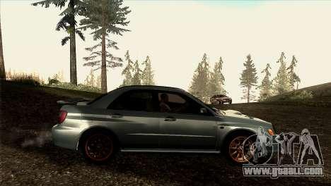 2001 Subaru Impreza WRX v 1.1 IVF [Tunable] for GTA San Andreas left view