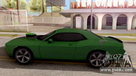 Dodge Challenger SRT-8 2010 Ben 10 Alien Swarm for GTA San Andreas left view