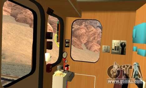 Metrostav type Hedgehog for GTA San Andreas upper view