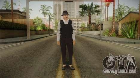 GTA Online: Public Enemies Skin for GTA San Andreas second screenshot