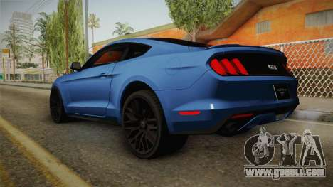 Ford Mustang GT for GTA San Andreas left view