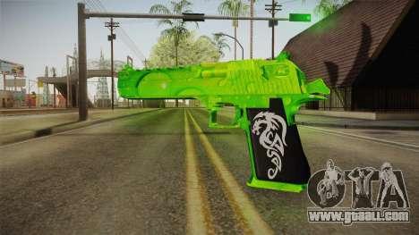 Green Weapon 1 for GTA San Andreas second screenshot