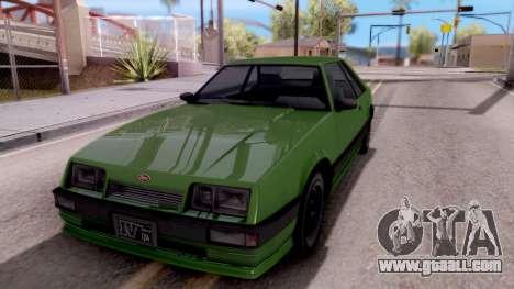 GTA IV Uranus for GTA San Andreas