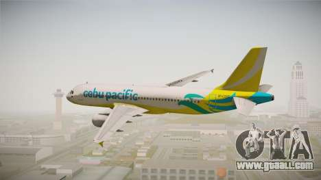 Airbus A320-214 - RP-C3242 (NC) Cebu Pacific for GTA San Andreas right view