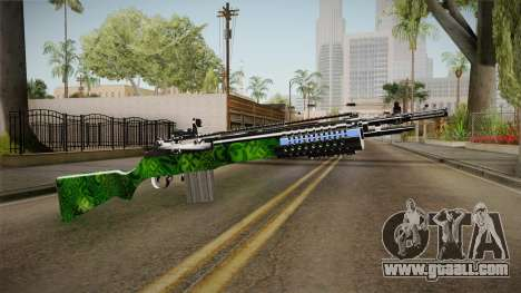 Green Rifle for GTA San Andreas second screenshot