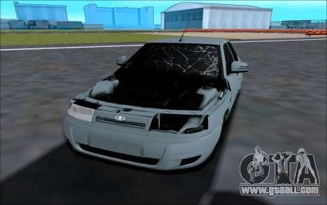 Lada 2110 for GTA San Andreas back view