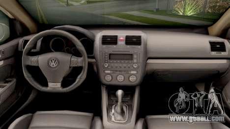 Volkswagen Golf V - BIH Police Car for GTA San Andreas inner view