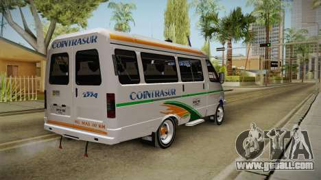 GAZelle 3221 Cointrasur for GTA San Andreas right view