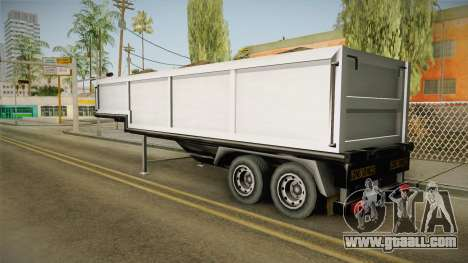 Volvo FH16 660 8x4 Convoy Heavy Weight Trailer 2 for GTA San Andreas left view