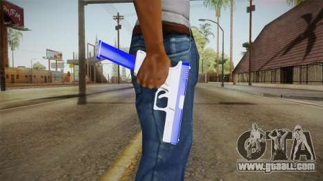 Blue Weapon 1 for GTA San Andreas