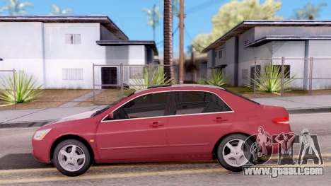 Honda Accord 2004 for GTA San Andreas left view