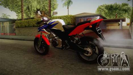 Honda CB150R StreetFire for GTA San Andreas back left view