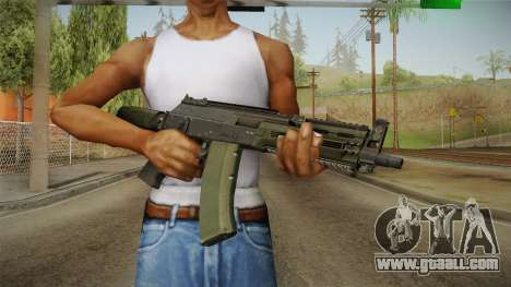 AK-12 BlackGreen for GTA San Andreas third screenshot