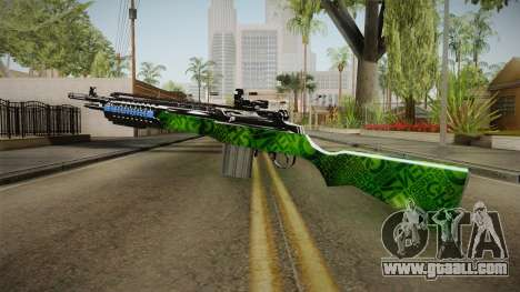 Green Rifle for GTA San Andreas third screenshot