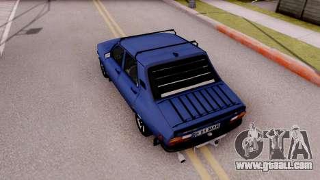 Dacia 1310 TX 1985 for GTA San Andreas back view