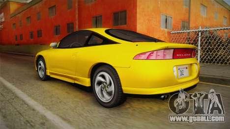 Mitsubishi Eclipse GSX 1995 HQLM for GTA San Andreas left view