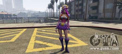 GTA 5 Miss Fortune League of Legends