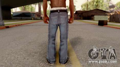 Beta Jeans Blurry for GTA San Andreas