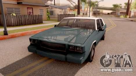 Tahoma Limited Edition for GTA San Andreas