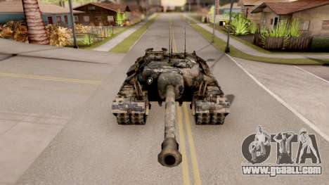 T95 Camouflage Verison for GTA San Andreas inner view