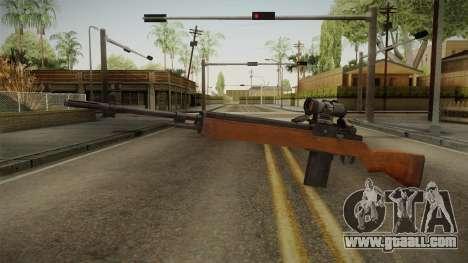 M14 Sniper Rifle for GTA San Andreas